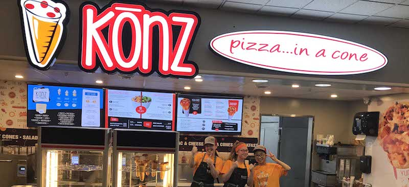 Konz Pizza…in a cone®